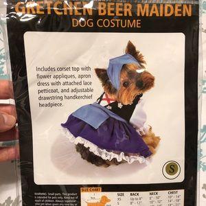 Gretchen Beer Maiden Dog Halloween Costume